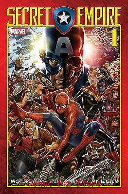 Secret Empire #1 (Of 9) (2017) 1St Printing Bagged & Boarded