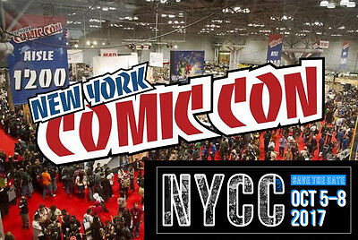 Nycc New York Comic Con 2017 Saturday Tickets Badges