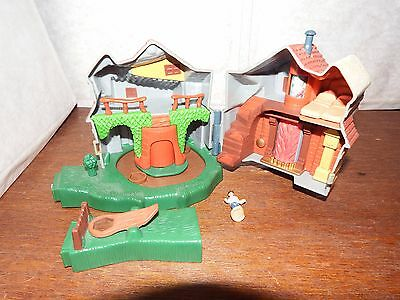 "RARE 5"" Harry Potter The Burrow Weasleys house polly pocket figure toy playset"