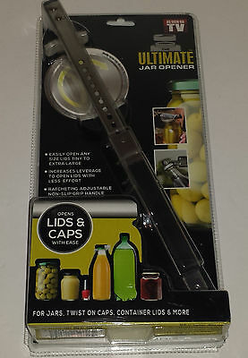 Creative Concepts USA As Seen on TV Stainless Steel Ultimate Jar Opener
