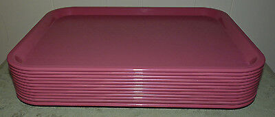 """SILITE SERVING CAFETERIA FOOD BUFFET TRAY!! PINK CT 1216 CHICAGO 16 1/4"""" x 12"""""""
