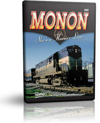 Monon She's a Hoosier Line - Pentrex Railroad Indiana DVD Video
