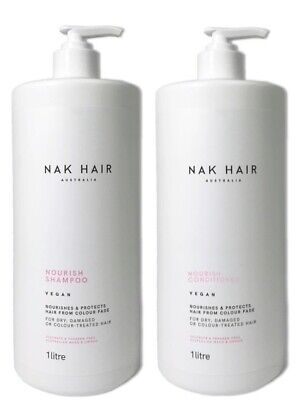 Nak Nourishing Shampoo 1 Litre And Conditioner 1 Litre