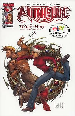 Witchblade # 80 Ebay Exclusive Cover 2004