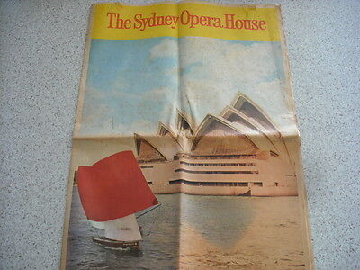 Sydney Morning Herald Sydney Opera House Opening 1973 By The Queen