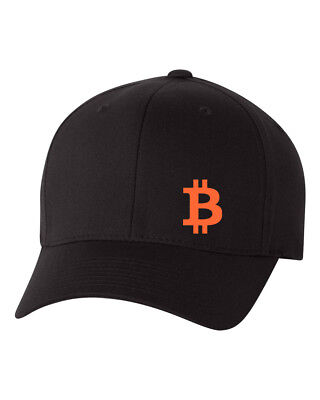 BITCOIN  P2P Flex Fit HAT CURVED or FLAT BILL  ***FREE SHIPPING in BOX***