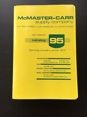 McMaster-Carr Supply Company Catalog 95 - Los Angeles Edition1989