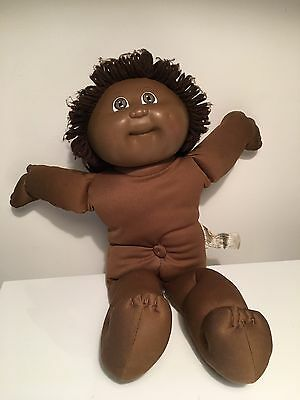 Vintage Cabbage Patch Kids 1982 - African American - Black Signature Head #3