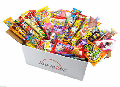 40 PIECE JAPANESE CANDY SET BOX Gummy Ramen Jelly Chips Chocolate Sweets -2