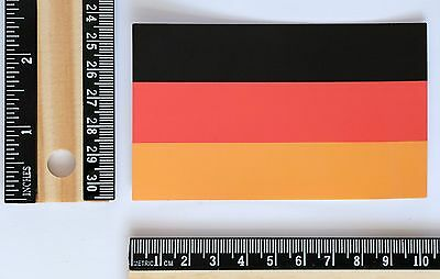 Germany national flag travel suitcase luggage label decal vinyl sticker #2647
