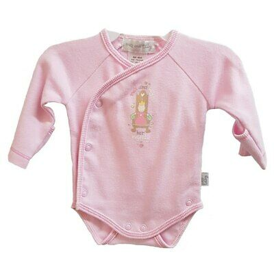 Max and Tilly - 'Just Arrived' Bodysuit- Premmie 5 x 0's - Pink