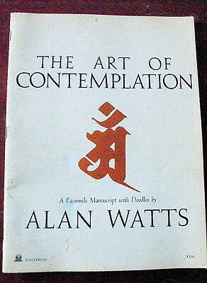 The Art of Contemplation  A Facsimile Manuscript with Doodles by Alan Watts 1972