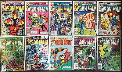 Invincible Iron Man 1st Series # 170,171,172,173,174,175,176,177,178,179 lot VF