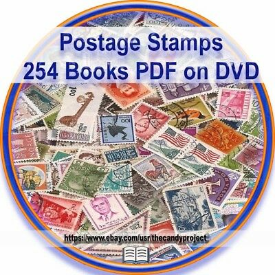 Postage Stamp 299 Books 2 DVD History Post Office Mail Collecting Magazine