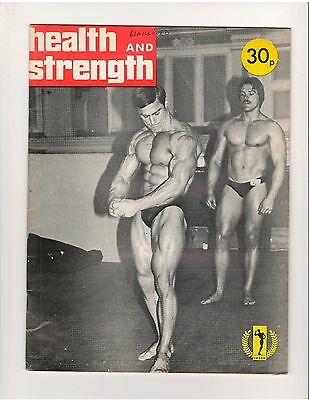 HEALTH and STRENGTH Vol 106 #4-5 bodybuilding muscle magazine/Terry Phillips1977