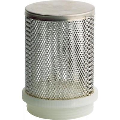 """NEW Stainless Steel Foot Valve Screen 50mm (2"""")"""