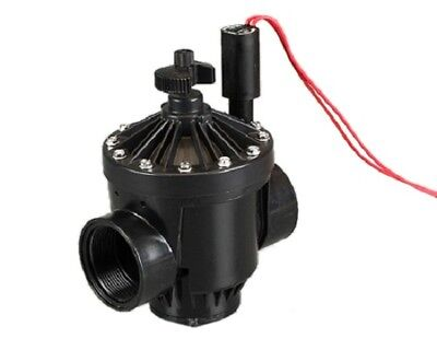"NEW Solenoid  Valve Hunter Globe (12V DC) Flow Control, 1"" (25 mm)"