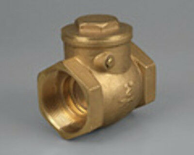 NEW Brass Swing Check Valve 20mm BSP