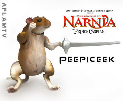 "The Chronicles of Narnia - Prince Caspian Peepiceek 1"" mouse Action Figure Jakks"