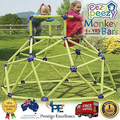 Kids Climbing Frame Outdoor Play Gym Equipment Toys Monkey Bars Eezy Peezy Play