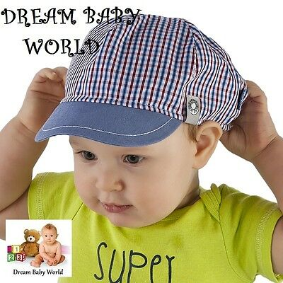 100% RICH Cotton spring summer boys HAT size 6 - 24 months 2 - 3 Years KIDS