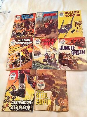 War Picture Library Comic Books (Set Of 8)