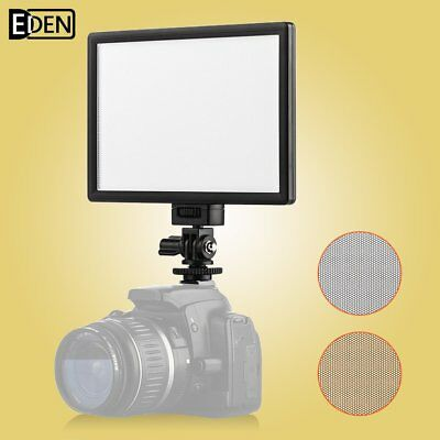 Viltrox L116T LED Video Light Lamp 3300K-5600K for Canon Nikon DSLR DV Camcorder