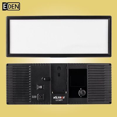 Viltrox L132T LED Video Light Lamp 3300K-5600K for Canon Nikon DSLR DV Camcorder