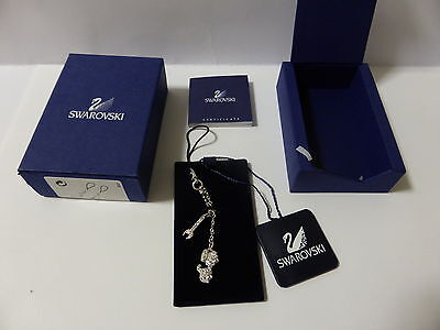 Swarovski Crystal Scooter And Spanner Charms New Rare Was $130 For Phone/handbag