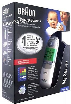 New Braun ThermoScan 7 IRT 6520 Baby&Adult Professional Digital Ear Thermometer