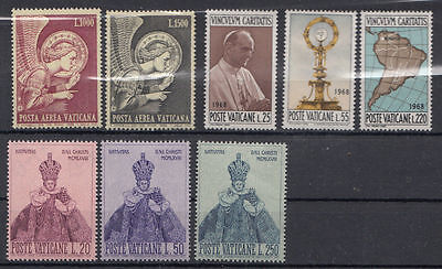 Vatican 1968 Complete Year Mnh**  Mh*