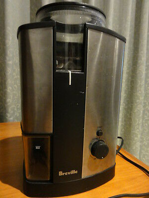 Breville Coffee Grinder Conical Burr Grinder Stainless Steel Construction
