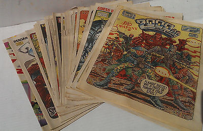 2000 A.D. Featuring JUDGE DREDD Progs 501-520 Unbroken Run of 20 Comic Issues VG