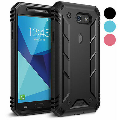 Poetic Revolution Heavy Duty Built-in Screen Protector Case for Galaxy J7 2017