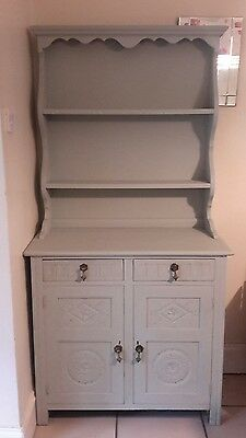 Beautifully detailed Light Green/Blue Welsh dresser **REDUCED**BARGAIN**