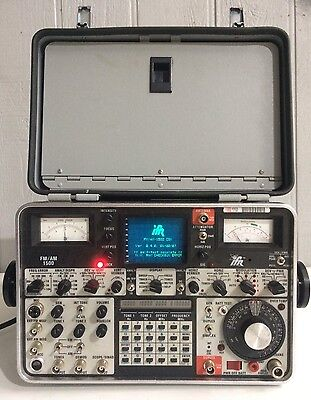 IFR Aeroflex FM/AM 1500 Communications Service Monitor Analyzer