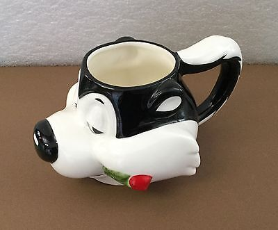 Pepe Le Pew Skunk Decorative Mug 1993 Warner Brothers Applause NEW