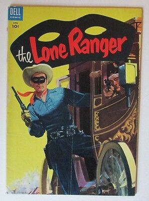 The Lone Ranger #82 Dell Western Comic 1955