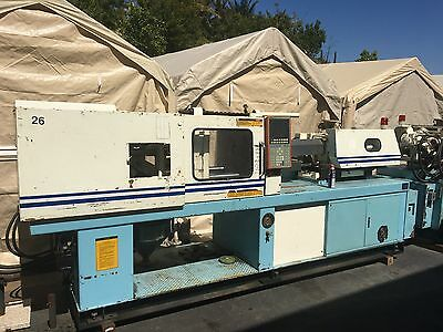 TWO 1994 130 Metric Ton Molding machines