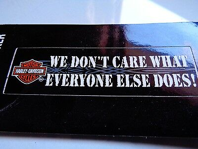 Harley Davidson Motorcycle Window Decal Factory Dealership Sticker HD Badge