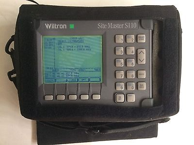 Wiltron/Anritsu Site Master S110 Cable Antenna Analyzer