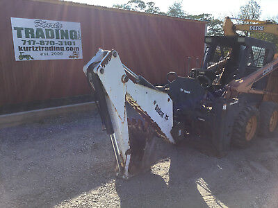 Bobcat 709 Backhoe Attachment for Skid Steer Loaders w/ Brackets!