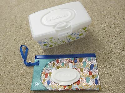 New Huggies Clutch 'n Clean Baby Wipes Travel Case & Box - Spring 2017 Edition