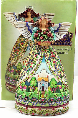 Jim Shore Summer Season Angel Figurine Summer Restores the Soul 2004