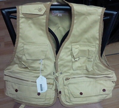 "Vintage Fly Fishing Vest, ""The Vest"" designed by Stan Hui (Small) (New)"
