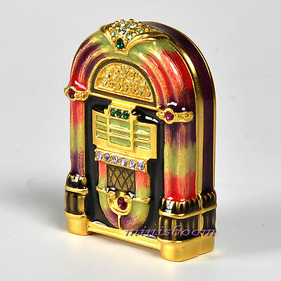 Estee Lauder JEWELED JUKEBOX Compact for Solid Perfume 2009 Jay Strongwater