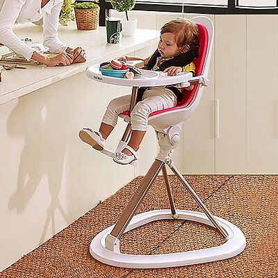 Hot Mom High Chair 360 BABY Foldable feeding Reclining Adjustable Seat Height