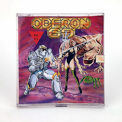 Oberon 69 G.ll. Diabolic Software Rare Diskette 5¼ Disk Ibm Pc Missing In Action