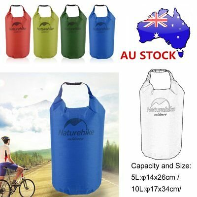 Portable 5/10/20L Waterproof Bag Storage Dry Bag for Rafting Sport Equipment UOJ