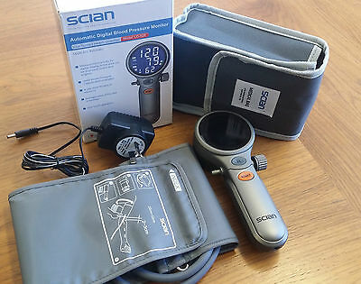 Scian Auto Blood Pressure Monitor (Cuff + recharge battery Included) Brand New